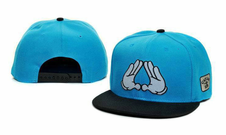 CAYLER & SONS Blue Snapback Hat GF